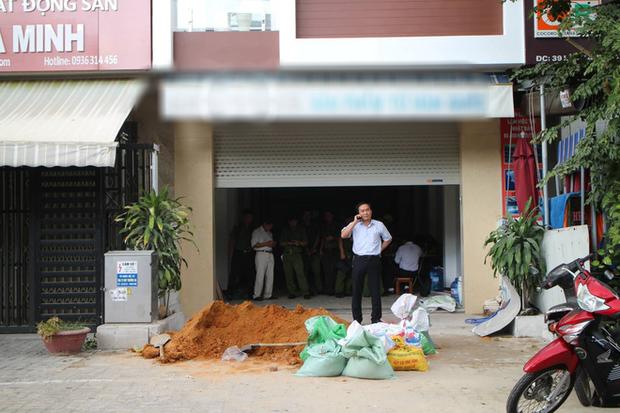 Bị điện giật, 3 công nhân ở Đà Nẵng bỏng nặng - Ảnh 2.