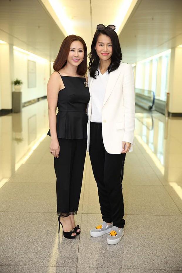 Chỉ bằng hành động nhỏ, Hoa hậu Thu Hoài đã chứng minh tình bạn thân thiết với ngôi sao TVB Hồ Hạnh Nhi - Ảnh 3.