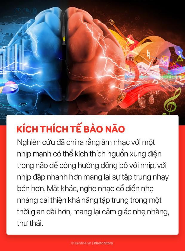 Giảm stress và nhiều lợi ích bất ngờ của việc nghe nhạc đối với sức khoẻ  - Ảnh 8.