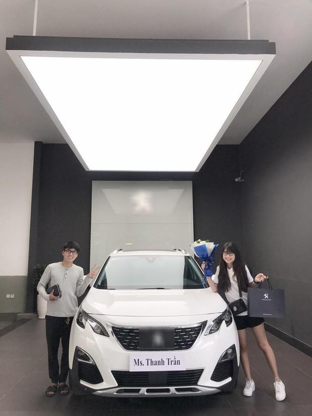 Thanh Trần khoe mua xe hơi tiền tỷ ở tuổi 21, tiết lộ từng bị đại gia gạ tình khi còn độc thân - Ảnh 2.