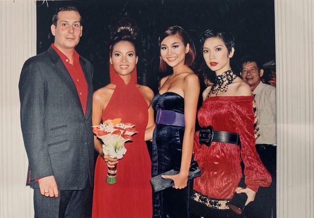 Siêu mẫu Xuân Lan gây thích thú khi chia sẻ hình ảnh thời đen nhẻm 12 năm trước bên Thanh Hằng, Bằng Lăng - Ảnh 1.