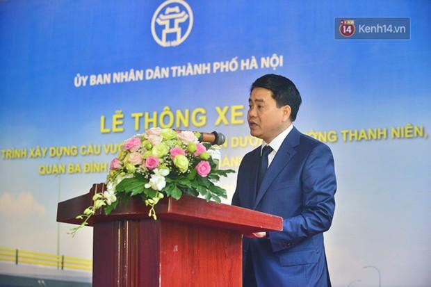 Chính thức thông xe cầu vượt An Dương-Thanh Niên - Ảnh 1.
