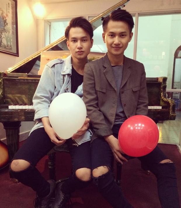 Nguyễn Trọng Tài Hongkong1 có anh trai sinh đôi thường xuyên bị fan nhận nhầm - Ảnh 3.