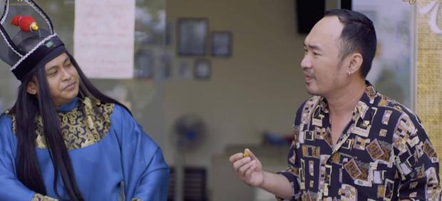 Chán làm chị Mười Ba đánh đấm, Thu Trang nghĩ ra chiêu tắm trắng không ai dám bắt chước trong webdrama cổ trang xuyên không - Ảnh 6.