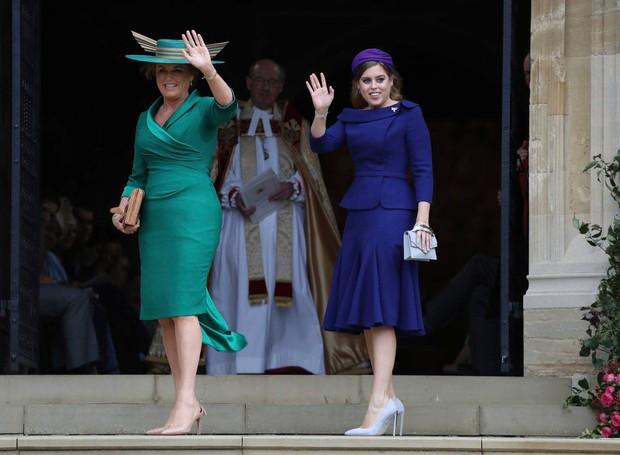 Những hình ảnh trong đám cưới cổ tích của Công chúa Eugenie - cháu gái Nữ hoàng Anh - Ảnh 5.