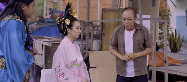 Chán làm chị Mười Ba đánh đấm, Thu Trang nghĩ ra chiêu tắm trắng không ai dám bắt chước trong webdrama cổ trang xuyên không - Ảnh 7.