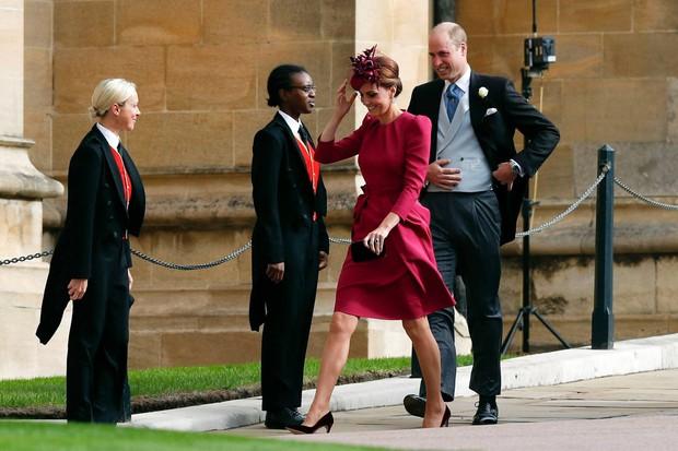Những hình ảnh trong đám cưới cổ tích của Công chúa Eugenie - cháu gái Nữ hoàng Anh - Ảnh 9.