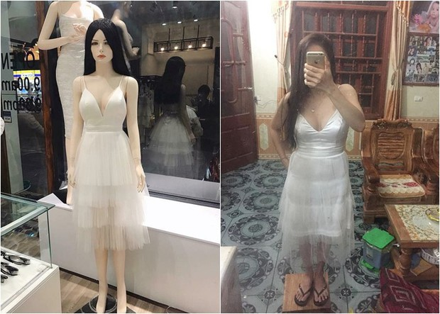 Loạt ảnh 1 chiếc váy 2 số phận là bài học kinh điển ai cũng nên biết về tai nạn mua hàng online - Ảnh 13.