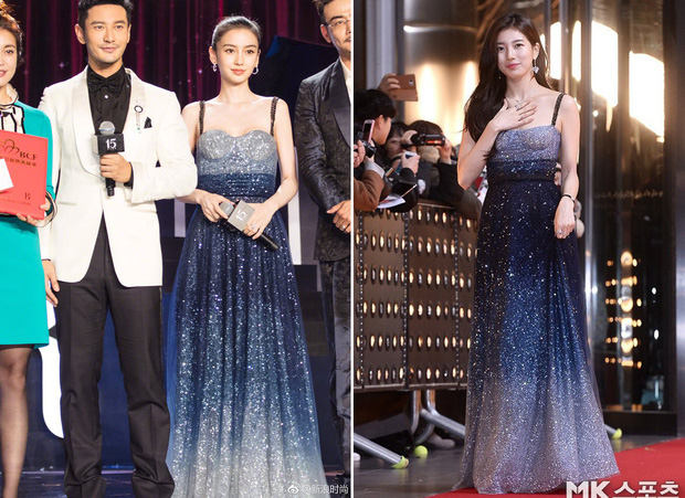 Gầy mặc gì cũng đẹp là có thật, cứ nhìn Angela Baby và Suzy cùng diện một mẫu váy là rõ - Ảnh 10.