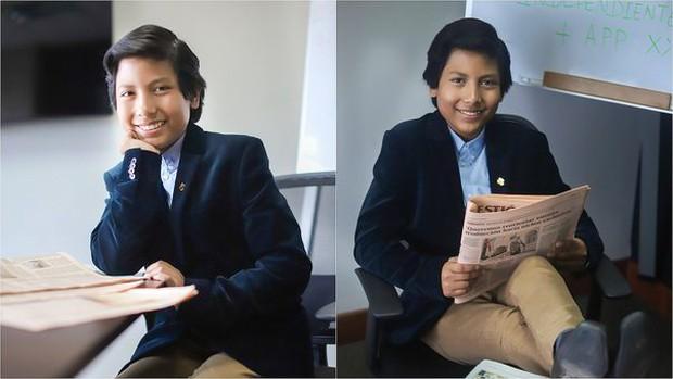 Mới 13 tuổi, cậu bé này đã sở hữu ngân hàng Học sinh với hơn 2000 khách, hợp tác với các công ty lớn nhất quốc gia - Ảnh 1.