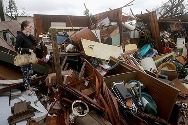 ít nhất 13 người thiệt mạng do hậu quả bão Michael ở Mỹ - Ảnh 1.