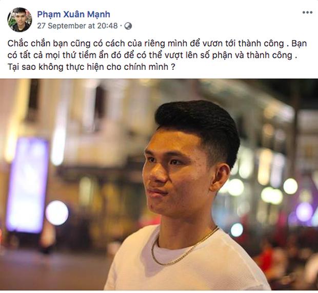 Không còn nghi ngờ gì nữa, Phạm Xuân Mạnh của U23 Việt Nam chính là chàng cầu thủ chỉ cần thở nhẹ là ra cả rổ quote - Ảnh 3.