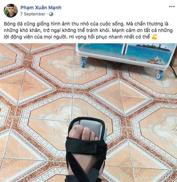 Không còn nghi ngờ gì nữa, Phạm Xuân Mạnh của U23 Việt Nam chính là chàng cầu thủ chỉ cần thở nhẹ là ra cả rổ quote - Ảnh 5.