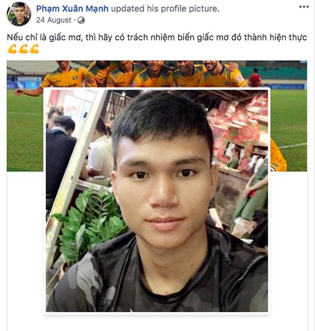 Không còn nghi ngờ gì nữa, Phạm Xuân Mạnh của U23 Việt Nam chính là chàng cầu thủ chỉ cần thở nhẹ là ra cả rổ quote - Ảnh 2.