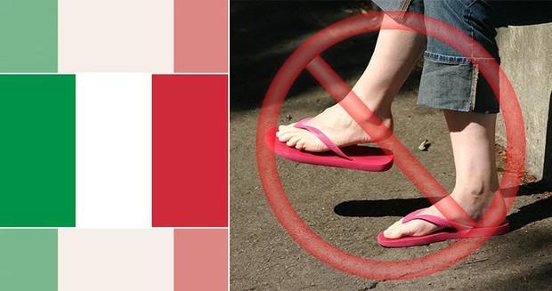 Những luật cấm kỳ lạ và lãng xẹt nhất thế giới: Cấm đi dép, cấm gấu pooh, mua kẹo cao su phải mang theo đơn thuốc - Ảnh 9.