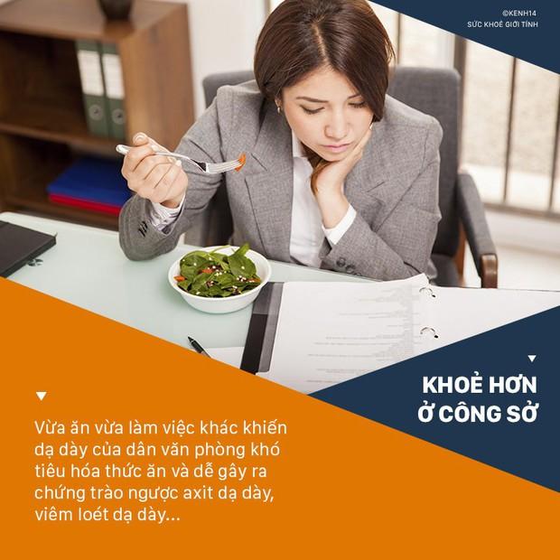 Không sửa ngay 6 thói quen này từ sớm thì dân văn phòng có nguy cơ cao mắc bệnh về dạ dày - Ảnh 1.