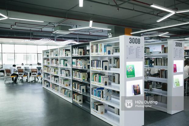 Thư viện các trường Đại học ở Việt Nam: Nơi sang chảnh 129 tỷ đồng, nơi đẹp đến mức đứng đâu cũng ra ảnh nghìn like - Ảnh 17.