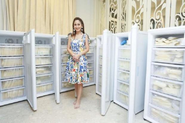 Hot mom Thái Lan đem 15 tủ lạnh chứa đầy sữa của chính mình đi quyên góp từ thiện gây tranh cãi lớn trên MXH - Ảnh 2.