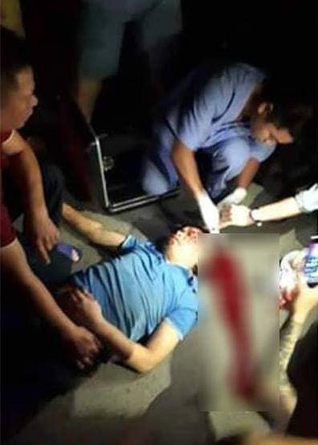 Người đàn ông gặp nạn do xe máy vướng vào dây xích chắn ngang đường tại chung cư HH Linh Đàm - Ảnh 1.