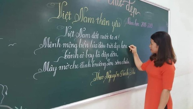 Khi giáo viên tiểu học đi thi viết chữ đẹp: Không máy in hay font chữ xịn sò nào có thể sánh ngang với bàn tay cô giáo! - Ảnh 18.