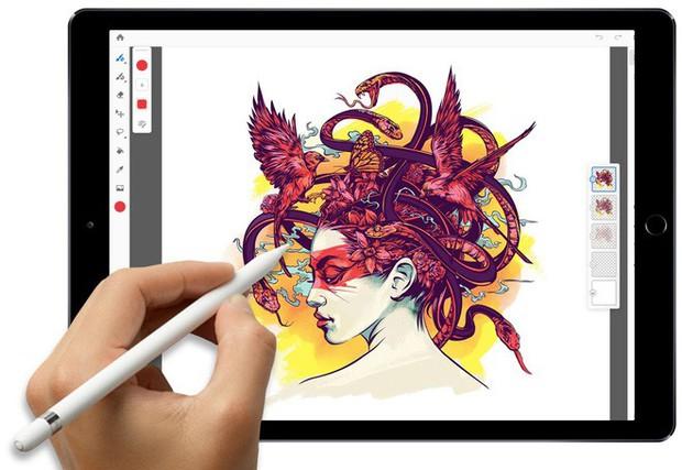 Adobe công bố Photoshop CC bản đầy đủ dành cho iPad vào năm 2019, có thể đồng bộ với desktop - Ảnh 3.