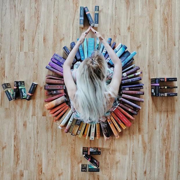 Instagrammer xinh đẹp chỉ thích tạo dáng với sách vở, nói không với bikini và hàng hiệu - Ảnh 14.
