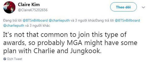 Charlie Puth tham gia lễ trao giải của MBC, fan kêu gào màn hợp tác We Don't Talk Anymore với Jungkook (BTS) - Ảnh 6.