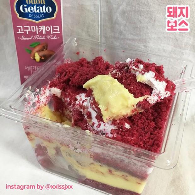 Chỉ vừa mới xuất hiện nhưng chiếc bánh này đã khiến giới trẻ Hàn xôn xao vì một loại nguyên liệu chẳng ai ngờ - Ảnh 3.