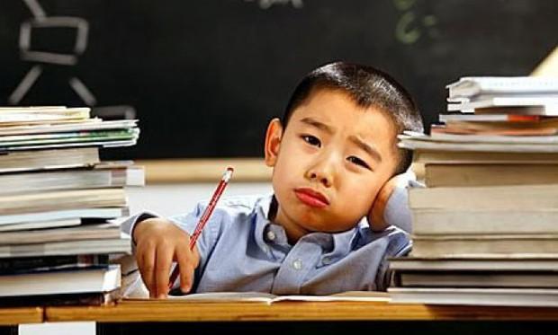Bố tức giận xé sách giáo khoa của con vì giáo viên giao nhiều bài tập quá - Ảnh 2.