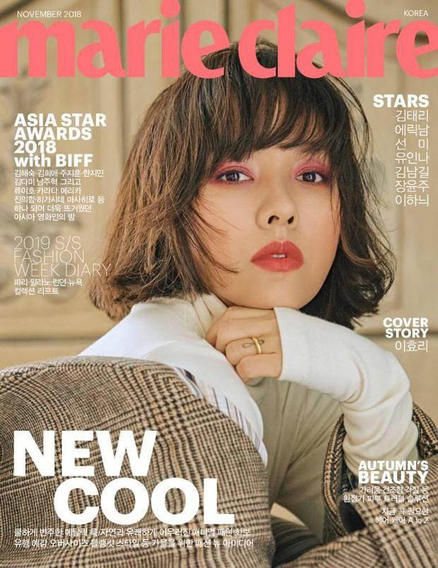 Sau Song Hye Kyo, nữ hoàng gợi cảm Lee Hyori cũng lột xác ngoạn mục, đẹp đỉnh cao với mái tóc ngắn mới toanh - Ảnh 1.