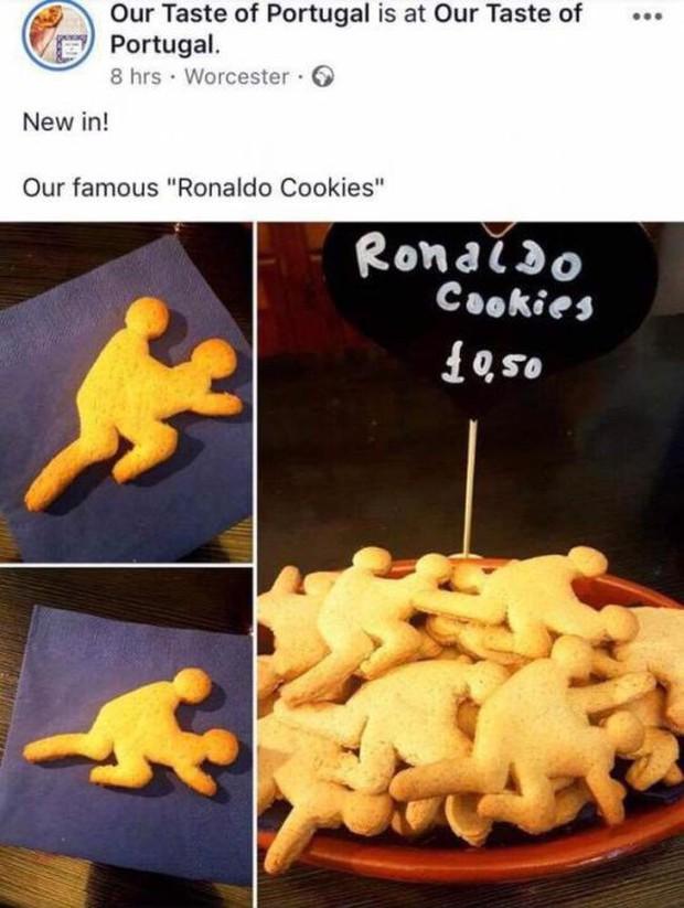 Bán bánh Ronaldo hiếp dâm, quán cafe ở Anh bị lên án gay gắt, chủ quán phải rối rít xin lỗi - Ảnh 1.
