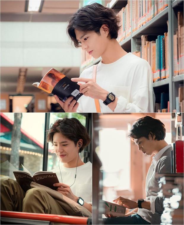 Hé lộ ảnh đẹp không góc chết của Thế tử Park Bo Gum trong phim mới với Song Hye Kyo - Ảnh 1.
