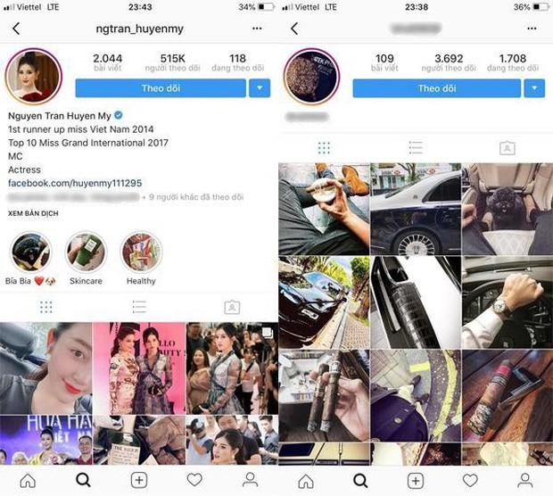Á hậu Huyền My và Bảo Hưng đã hủy theo dõi nhau trên mạng xã hội - Ảnh 1.