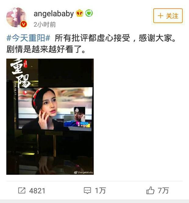 Vừa trở lại đã bị chê diễn dở, đây là cách cực khéo mà Angela Baby phản ứng với netizen  - Ảnh 3.