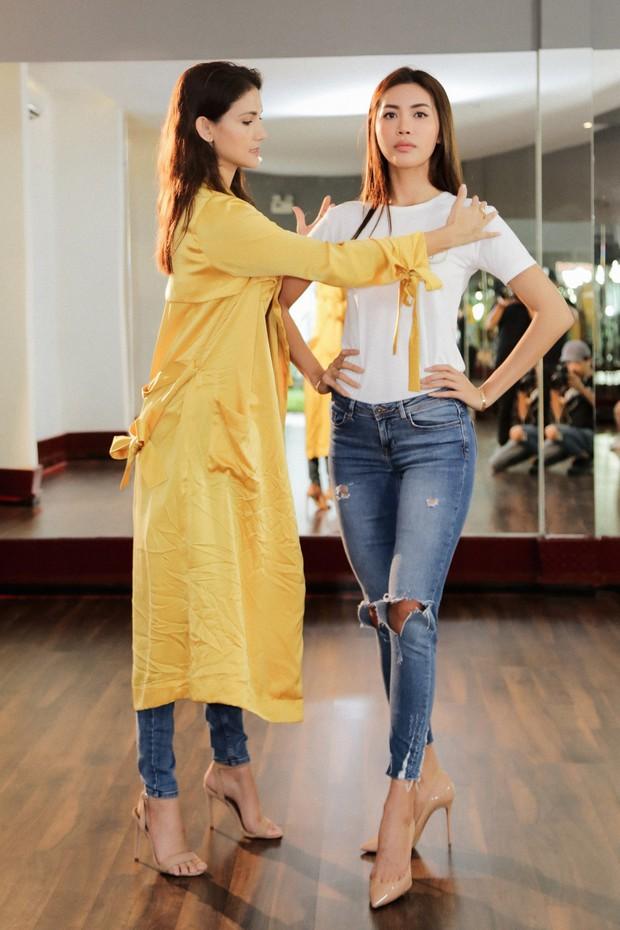 Minh Tú tất bật tập luyện cùng siêu mẫu quốc tế Cindy Bishop cho cuộc đua Miss Supranational 2018 - Ảnh 4.