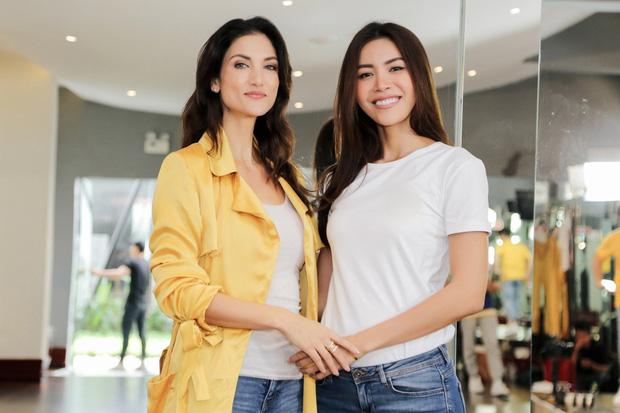 Minh Tú tất bật tập luyện cùng siêu mẫu quốc tế Cindy Bishop cho cuộc đua Miss Supranational 2018 - Ảnh 10.