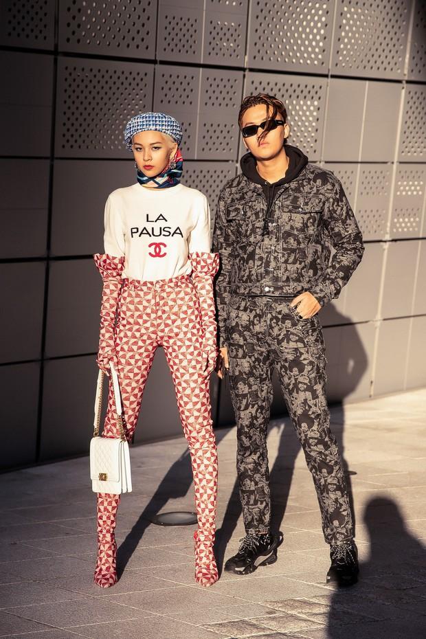 SFW ngày 2: Không rõ hữu ý hay vô tình, Phí Phương Anh đụng nguyên bộ Chanel với Jennie (BLACK PINK) - Ảnh 9.