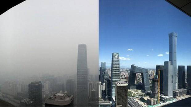 Sương mù ô nhiễm của Bắc Kinh trở lại do dân chúng dùng nước hoa và gel xịt tóc? - Ảnh 1.