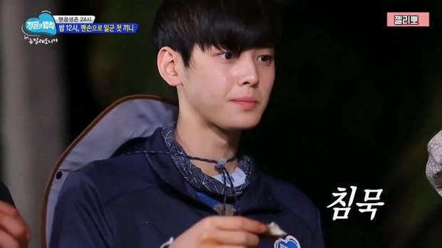 Trước khi lộ hình ảnh lấm tấm mụn, mỹ nam Cha Eun Woo từng gây sốt với khuôn mặt mộc trong show thực tế này! - Ảnh 2.