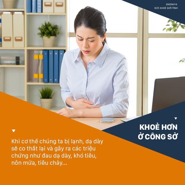 5 vấn đề sức khoẻ mà dân văn phòng ngồi điều hòa nhiều rất dễ mắc phải - Ảnh 7.