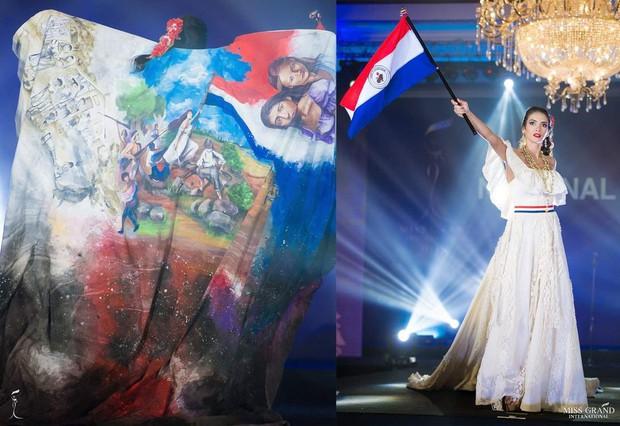 Chính thức: Phương Nga lọt top 5 bộ trang phục dân tộc được bình chọn nhiều nhất tại Miss Grand International 2018 - Ảnh 6.