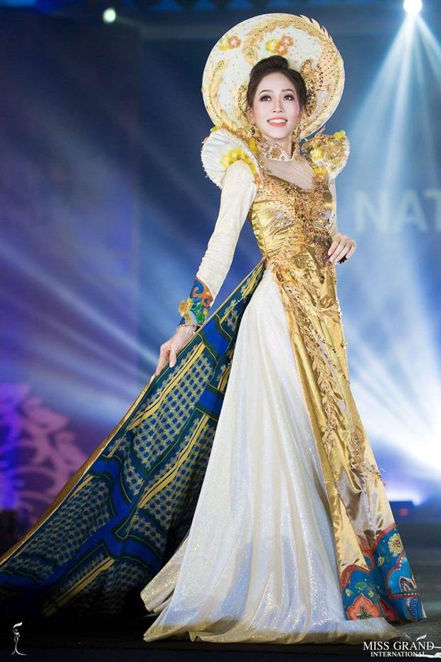 Chính thức: Phương Nga lọt top 5 bộ trang phục dân tộc được bình chọn nhiều nhất tại Miss Grand International 2018 - Ảnh 2.