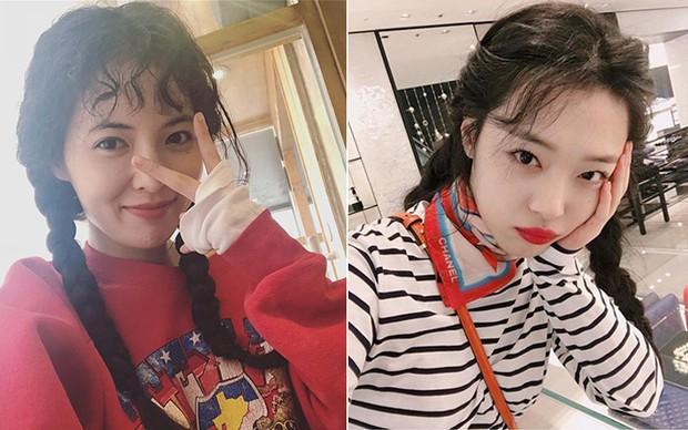 Trùng hợp thú vị: Cả HyunA và Sulli đều cùng làm điều này khi gặp scandals tình cảm - Ảnh 6.