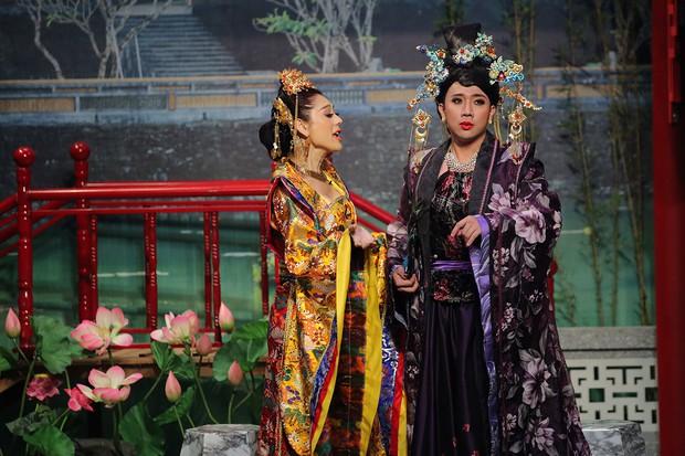 Lâm Khánh Chi - Trấn Thành cung đấu tưng bừng trên sân khấu Ơn giời - Ảnh 3.