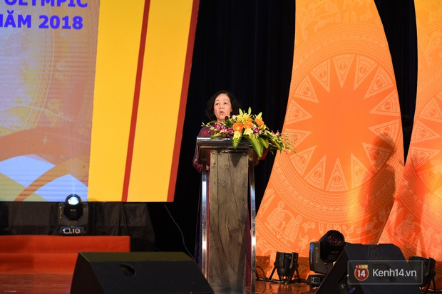 Bộ Giáo dục và Đào tạo tuyên dương 33 học sinh THPT đoạt giải Olympic và cuộc thi Khoa học, Kỹ thuật quốc tế - Ảnh 12.