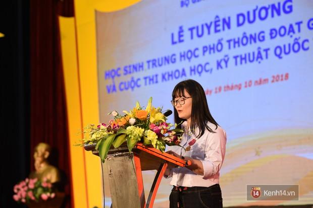 Bộ Giáo dục và Đào tạo tuyên dương 33 học sinh THPT đoạt giải Olympic và cuộc thi Khoa học, Kỹ thuật quốc tế - Ảnh 15.