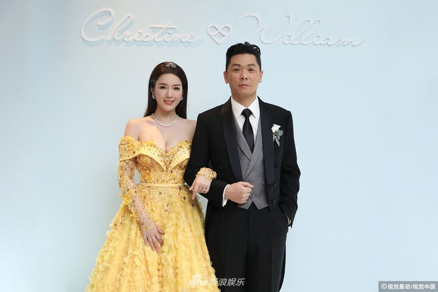 Hoa hậu ân ái trong ô tô tổ chức đám cưới đổi đời với đại gia Hong Kong, đeo nhẫn kim cương 5 tỷ trên tay - Ảnh 15.