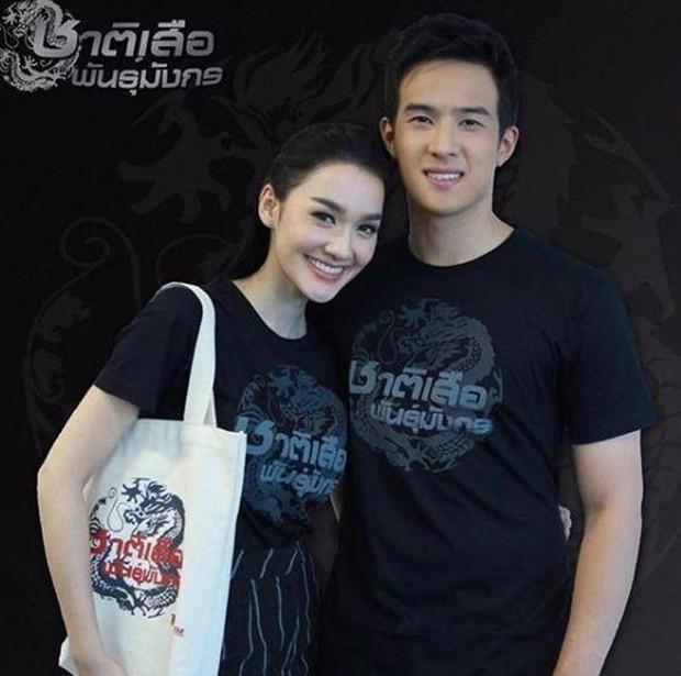 Anh xã quốc dân đình đám Thái Lan James Ma đang hẹn hò bông hồng lai được đàn ông Thái khao khát nhất? - Ảnh 2.
