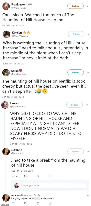 Khán giả nôn mửa, khóc lóc và mất ngủ khi xem series kinh dị nhất Netflix The Haunting of Hill House - Ảnh 3.
