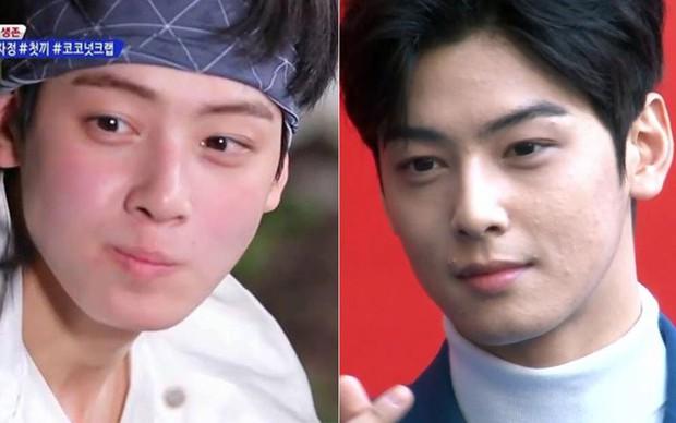 Trước khi lộ hình ảnh lấm tấm mụn, mỹ nam Cha Eun Woo từng gây sốt với khuôn mặt mộc trong show thực tế này! - Ảnh 11.